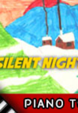 How to Play Silent Night – Piano Tutorial, Notes, Keys, Sheet Music