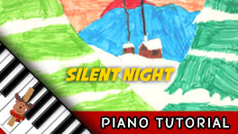 How to Play Silent Night - Piano Tutorial, Notes, Keys, Sheet Music