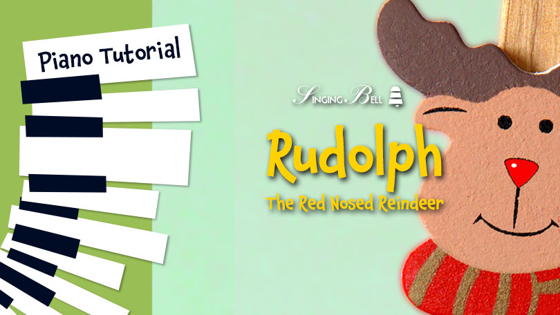 How to Play Rudolph the Red-Nosed Reindeer - Piano Tutorial, Guitar Chords, Notes, Keys, Sheet Music