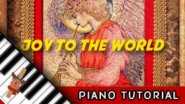 How to Play Joy to the World - Piano Tutorial, Notes, Keys, Sheet Music