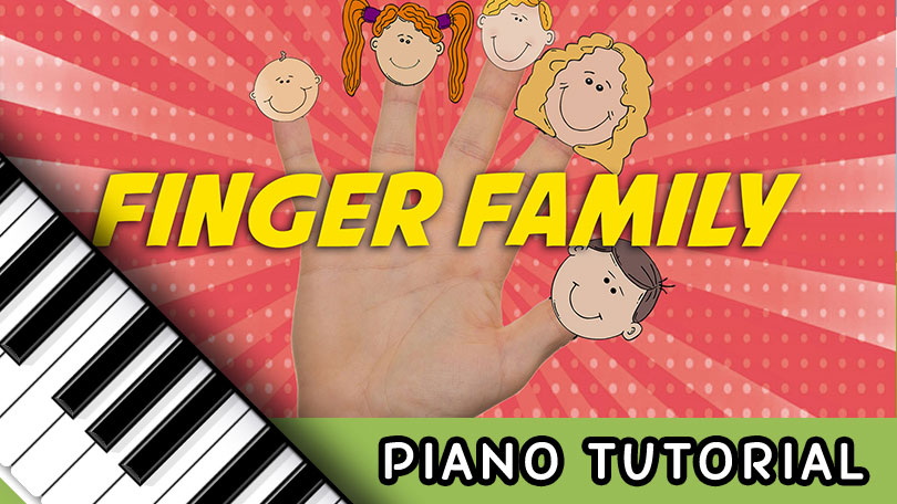How to Play Finger Family - Piano Tutorial