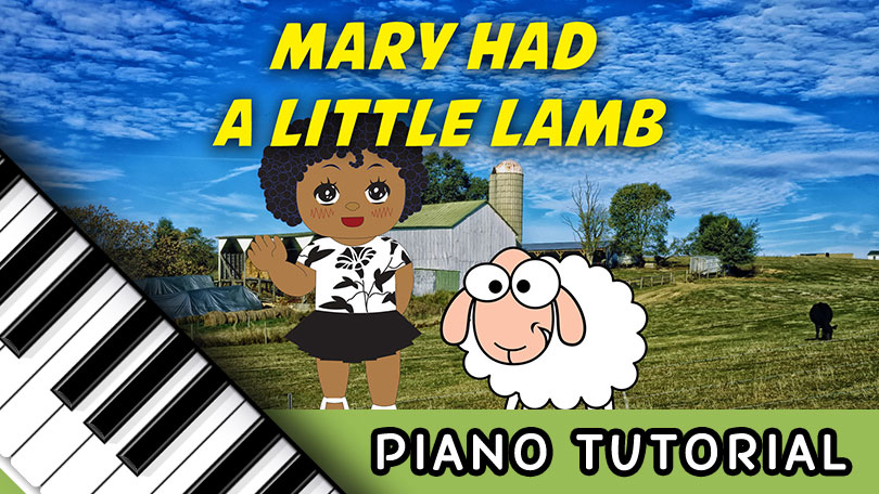 How to Play Mary Had a Little Lamb - Piano Tutorial
