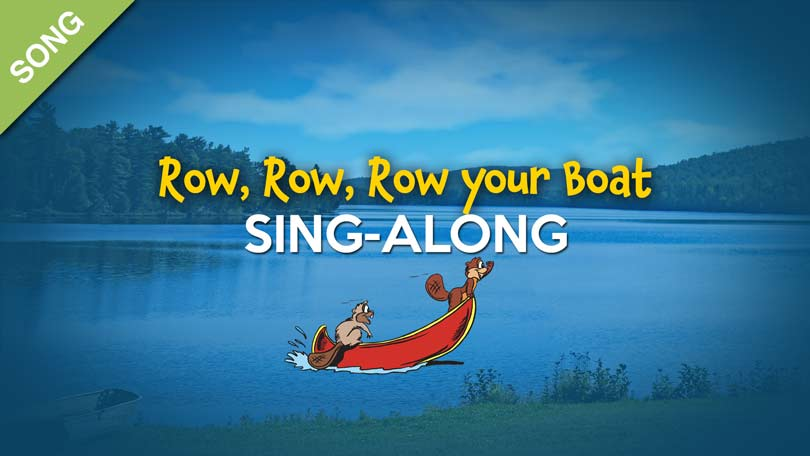 Row Row Row your Boat Sing Along.