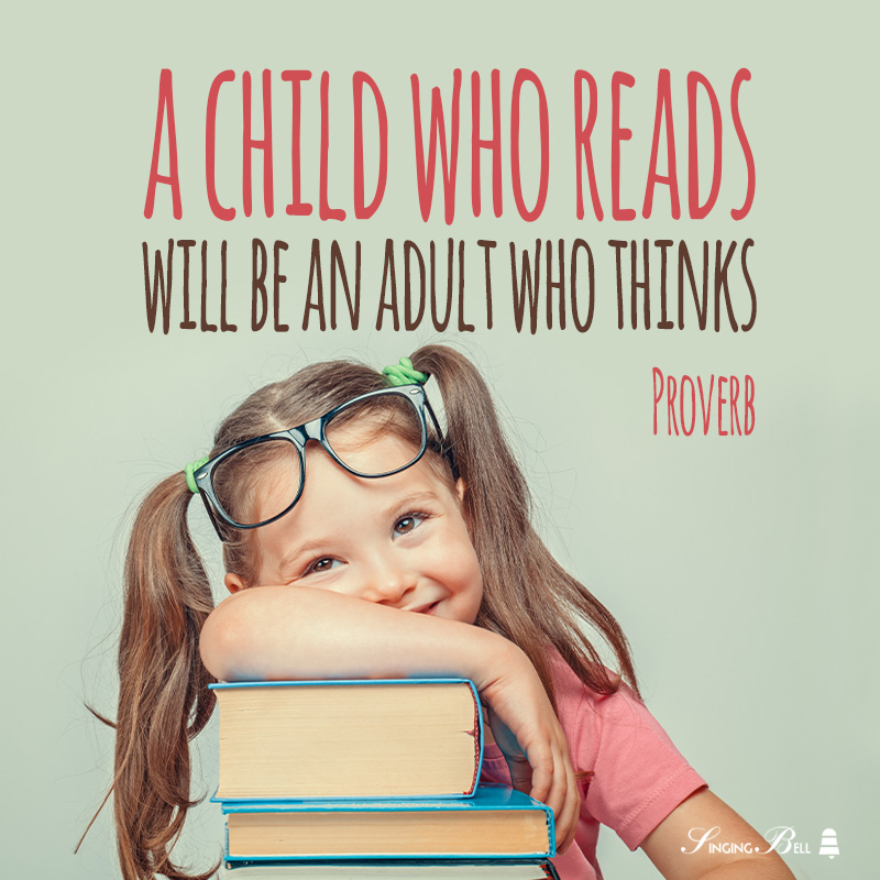 Reading quote for kids.
