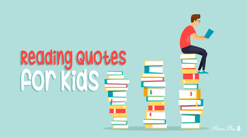 Reading quotes for kids.