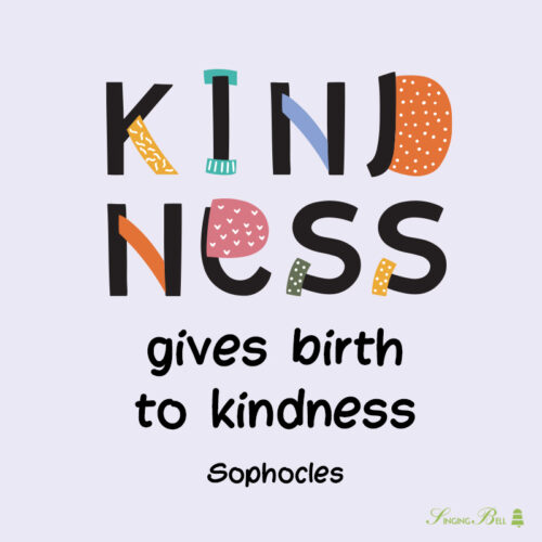 Kindness Quotes for kids.