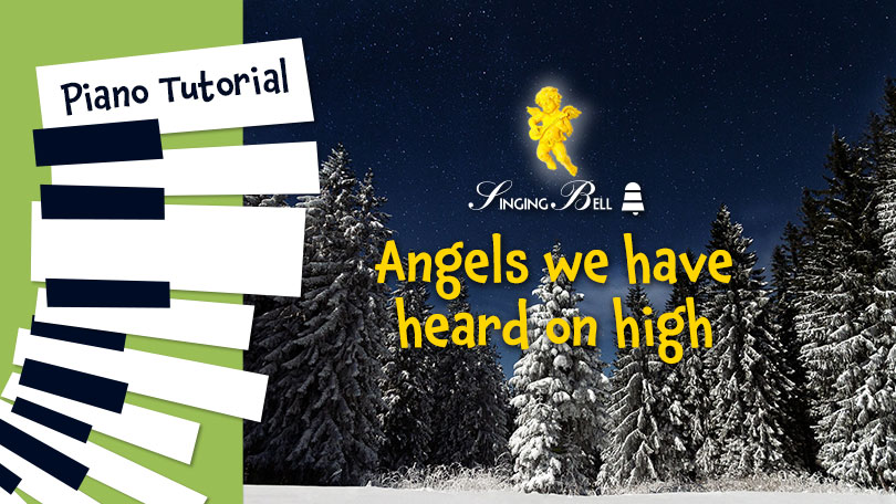 How to Play Angels We Have Heard On High - Piano Tutorial, Guitar Chords and Tabs, Notes, Keys, Sheet Music