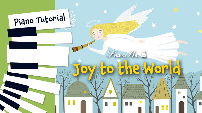 How to Play Joy to the World - Piano Tutorial, Guitar Chords and Tabs, Notes, Keys, Sheet Music