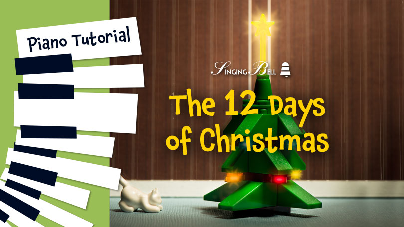How To Play The 12 Days of Christmas - Piano Tutorial, Guitar Chords and Tabs, Notes, Keys, Sheet Music