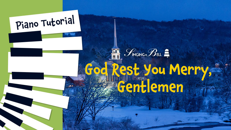 How to Play God Rest You Merry, Gentlemen - Piano Tutorial, Guitar Chords and Tabs, Notes, Keys, Sheet Music