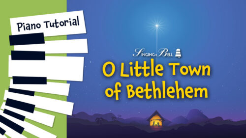 How to Play O Little town of Bethlehem – Piano Tutorial, Guitar Chords and Tabs, Notes, Keys, Sheet Music