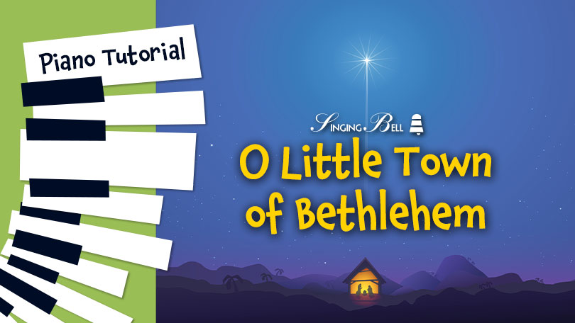 How to Play O Little town of Bethlehem - Piano Tutorial, Guitar Chords and Tabs, Notes, Keys, Sheet Music