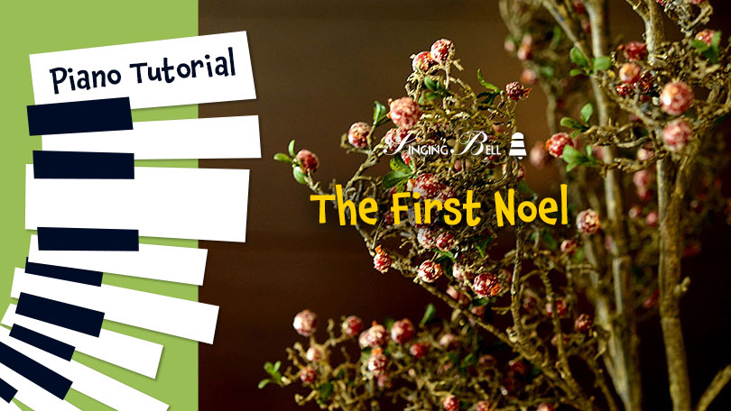 How to Play The First Noel - Piano Tutorial, Guitar Chords and Tabs, Notes, Keys, Sheet Music