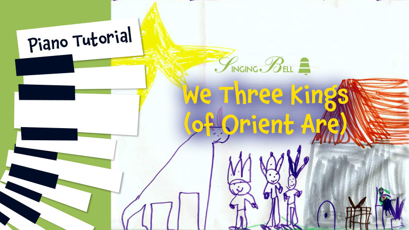 How to Play We Three Kings (of Orient Are) - Piano Tutorial, Guitar Chords and Tabs, Notes, Keys, Sheet Music