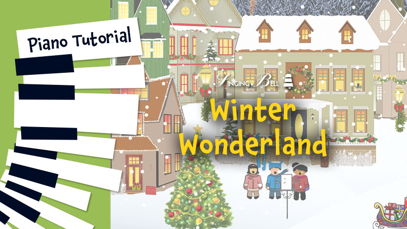 How to Play Winter Wonderland - Piano Tutorial, Guitar Chords and Tabs, Notes, Keys, Sheet Music