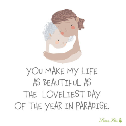 Love quote for kids.