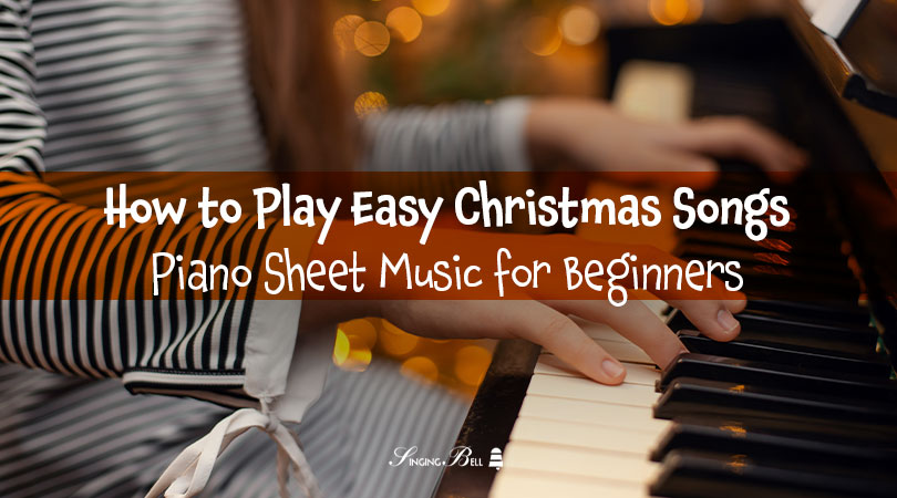 16+1 Easy Piano Christmas Songs - Sheet Music for Beginners