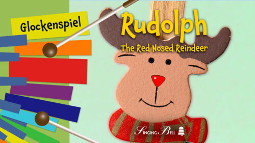 Rudolph the Red-Nosed Reindeer – How to Play on Glockenspiel / Xylophone