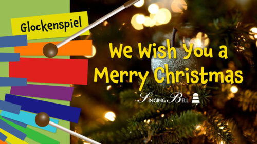 We Wish You A Merry Christmas – How to Play on Glockenspiel / Xylophone